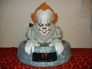 Pennywise Evil Clown Led Lighted Statue - Large It Figure - Halloween Horror