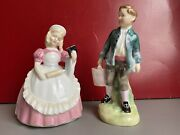 Royal Doulton Figurine Cookie Hn2218 And Jack