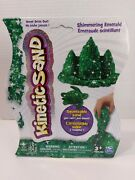 Kinetic Sand Shimmering Emerald New