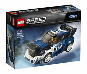 Lego Speed Champions 75885 Ford Fiesta M-sport Wrc -new Sealed Free Shipping