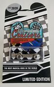 Disney Park Cruisers Tomorrowland Speedway 1st In Series Poth Le Pin-free Shpg