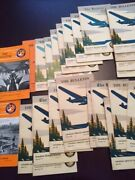 Canadian Airways Limited Group Of 25 Publications And039and039the Bulletinand039and039 1931 To 1937