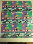 Johnny Lightning Monopoly Series One. Lot Of 9 Cars With Car Shaped Tokens