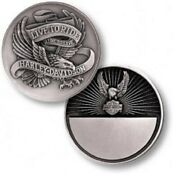 Harley Davidson / Live To Ride Eagle 1.75oz Silver Proof Challenge Coin