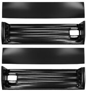 55-59 Chevy/gmc Truck Lh And Rh Side Lower Door Inner And Outer Bottom Patch Panels