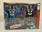 Transformers Wfc Earthrise Skywarp And Thundercracker Seekers Misb In Hand Usa New