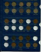 Vg, Indian Head Cent Collection. 1857 - 1909 Set With What Is It 1856 Coin
