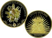 Holy Trinity Gigantic Commemorative Coin Proof Value 199.95