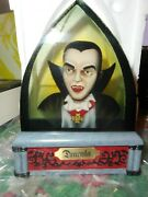 Westland Giftware 3-d Dracula Bust In Lucite Universal Studios