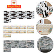 3d Self-adhesive Kitchen Wall Tiles Bathroom Mosaic Brick Stickers Peel And Stick