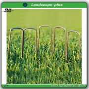 6 Inch Long Landscape Sod Staples Sturdy Garden Stakes Weed Barrier Fabric Pins