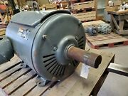 Lincoln Multiguard Encapsulated 125 Hp Electric Motor 460 Volt 1185 Rpm Fr445t