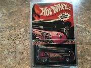 2013 Collector's Edition Kmart Mail-in Vw Drag Bus 4/4 Hot Wheel Black/pink