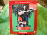 The One And Only Elvis Carlton Cards Heirloom Musical Christmas Tree Ornament