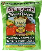 Dr. Earth Organic 5 Tomato Vegetable And Herb Fertilizer Poly Bag 4-pound