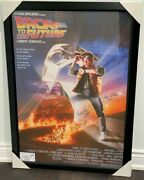 Back To The Future Reprint Movie Poster Signed Fox Lloyd Thompson Wilson 4 Autos