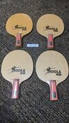 Pack Of 4 - Joola J. Rosskopf Fire Blade Racket Ping Pong Paddle Free Shipping