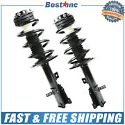 Front Pair Left And Right Complete Strut Assembly For 2009-2019 Dodge Journey