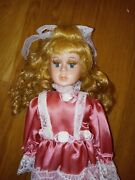 Designer Guild Collection Lady Jane Porcelain Doll 358/2000 By Thelma Resch New