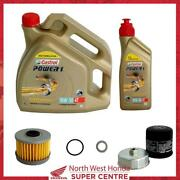 Genuine Honda Gl1800 Dct Gold Wing 18-21 Service Kit Oil, Filter, Washer, O-ring