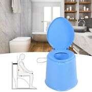 2 Color Portable Toilet Seat Travel Camping Hiking Outdoor Indoor Potty Commode