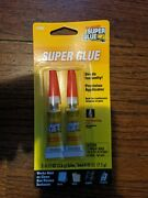 The Original Super Glue Tube 2-pack Metal Wood Rubber And Plastic Free Shipping