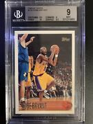 1996-97 Kobe Bryant Bgs 9 Topps Rookie Rc 138 Mint Bgs 9 W/9.5 And 10 Subs 🔥🔥