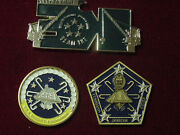 Lot 3 Uss Dwight D Eisenhower 69 Challenge Coin Command Master Chief And 2017 Pia