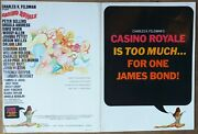 Casino Royale Campaing Book, Peter Sellers, Ursula Andress, 1967, Pressbook 597