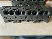 1970 Lt1 Factory Cylinder Heads With Guide Plates New Nos Intake Exhaust Valves