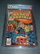Black Panther1 Cgc 9.4 Wp Nm Key 1st Issue Solo Titled Premier Jack Kirby 1977