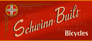 36 X 16 Reproduced Vintage Schwinn Bicycle Sign On Graphic Canvas