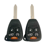2 New Replacement Keyless Entry Remote Key Fobs Rhk 5 Button Oht692427aa