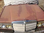Mercedes Benz W123 Wagon Front Grill And Lights Sell Complete Or Parting Out