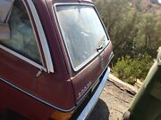 1985 Mercedes W123 300 Td D Wagon Rear Hatch Trunk Parting Out Complete Wagon
