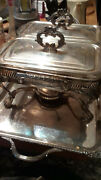 Anchor Hocking Fire King Baking Casserole Dishes Glass Lids Tray Silver Plate