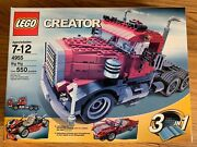 Lego Creator Big Rig 4955 Brand New Sealed Box 3 In 1 550 Pcs. Ages 7-12