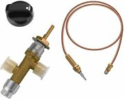 Lpg Propane Gas Fire Pit Flame Failure Safety Control Safety Valve Kit 3/8 Flar