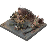 Sol Model 1/16 Wwii German Mg34 Team 3 Figures Base Not Included