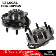 2pcs Front Wheel Hub And Bearing Assembly For 2011-2014 Ford F-150 4wd W/ Abs