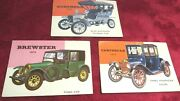 Topps World On Wheels 1950's Trading Cards
