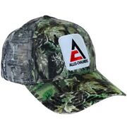 Allis Chalmers Tractor Cap New Logo Camo Hat Mesh Back Accents Gift