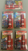 Sonitek 9 Led Torch Light With Batteries Included Pack Of 5