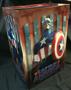 Captain America Premium Format Sideshow Collectibles Mib 1000 Or Best Offer