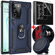 For Samsung Galaxy Note 20 Ultra Case+car Air Vent Mount/camera Lens Protector