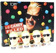 10 Max Headroom Candy Dispensers Vintage 1987 Figure Toy Topps With Display Box