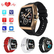 2021 Smart Watch Heart Rate Blood Pressure Monitor Phone Mate For Iphone Android