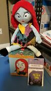 Limited Edition Sold Out Nightmare Before Xmas Sally W/ Scent Pak Ships Free