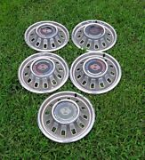 1967 Chevy Impala 5 - Ss Wheel Covers Hubcap Local Pickup Only