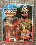 Hasbro Wwf Official Macho King Randy Savage Figure Blue Macho Masher From Japan